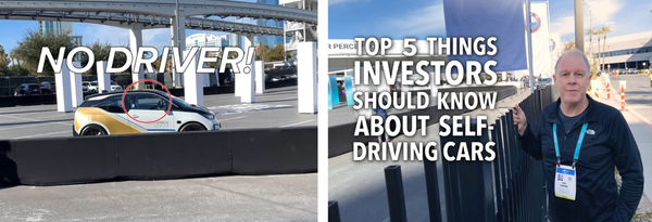 Top 5 Things to Know About Self-Driving Cars